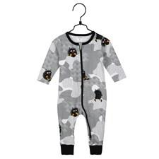 Pyjamas Gömd, Grå, stl 86, Mumin