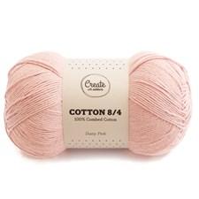 Adlibris Bomull 8/4 Garn 100g Dusty Pink A084