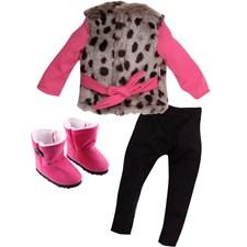 Winter Warm outfit, Design a Friend