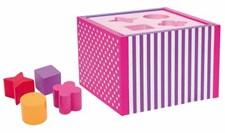 Palikkalaatikko, vaaleanpunainen, JaBaDaBaDo