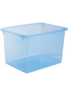 Säilytyslaatikko Store It 20 L läpinäkyvä Sininen.