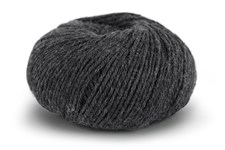 Knit At Home Classic SW Wool Garn Ullgarn 50 g Antracit Melange 402