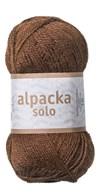 Alpacka Solo Ullgarn 50g Brun (29105)