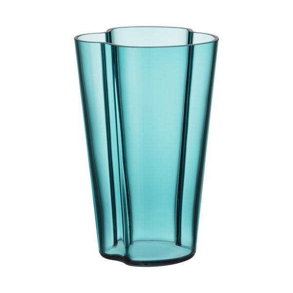 Iittala Aalto Vas H 22 cm Havsblå (blå) - vaser