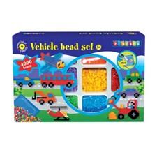 Rörpärlor och Pärlplattor Fordon Playbox 4000 st