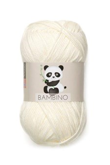 Viking of Norway Bambino Garn Bomullsmix 50g Naturvit 402