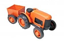 Traktor med släp, Green Toys