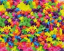 Plastperler, Stjerner, 1000st, 17x6mm