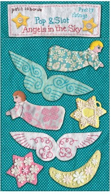 Joulukoristeita Flying Angels Roger la Borde