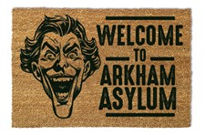 Batman Dörrmatta Welcome To Arkham Asylum