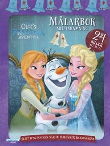 Disney Frost målarbok med inramning