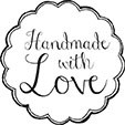 Handmade with Love, Rund 35/ 35 mm
