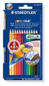 Färgpennor Akvarell Staedtler Noris Club 12-pack