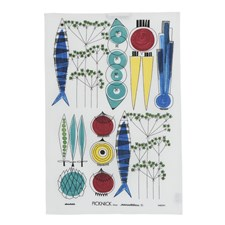Kjøkkenhåndkle, Picknick, 47 x 70 cm, Multi, Almedahls