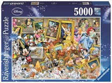 Pussel 5000 bitar, Disney Multiproperty, Ravensburger