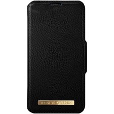 Mobilfutteral, Fashion Wallet, Til Iphone X, Black, Ideal