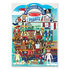 Pirater, Puffy Stickers, Melissa & Doug