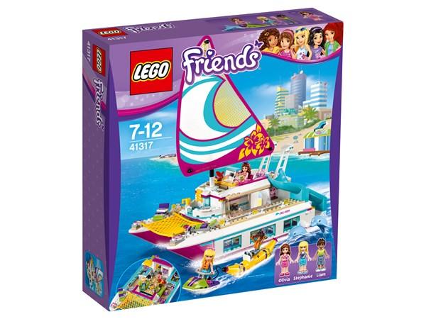 Solskenskatamaran, LEGO Friends (41317)