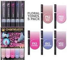 Chameleon 5-pack Pen Marker Floral Tones