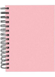 Notatbok Burde A5, rosa