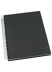 Muistikirja GRIEG Design A4 100 g viivaton musta
