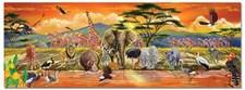 Golvpussel 100 bitar, Safari, Melissa & Doug