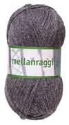 Mellanraggi Garn Ullmix 100g Mörkgrå (28212)