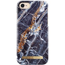 Mobildeksel, Fashion Case, Til Iphone 6/6S/7/8, Midnight Blue Marble, Ideal