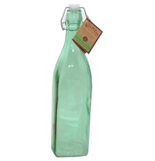 Flaske med patentkork, 1 L, Grønn, Kilner