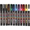 Posca Marker , mixade färger, nr. PC-3M, spets 0,9-1,3 mm, Fine, 12 st./ 1 förp.