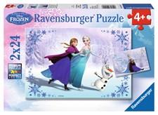 Frozen palapeli, 2x24 palaa, Ravensburger