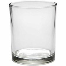 Lysglass, dia. 7 cm, H: 8,4 cm, 12 stk.