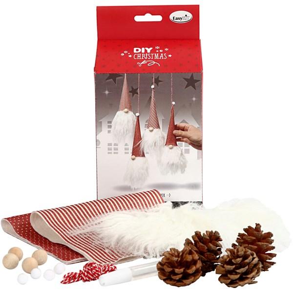 Hobbypakke Jul Christmas Friends, H: 24 cm, 1 sett