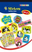 Klistermärken hundar och katter Playbox