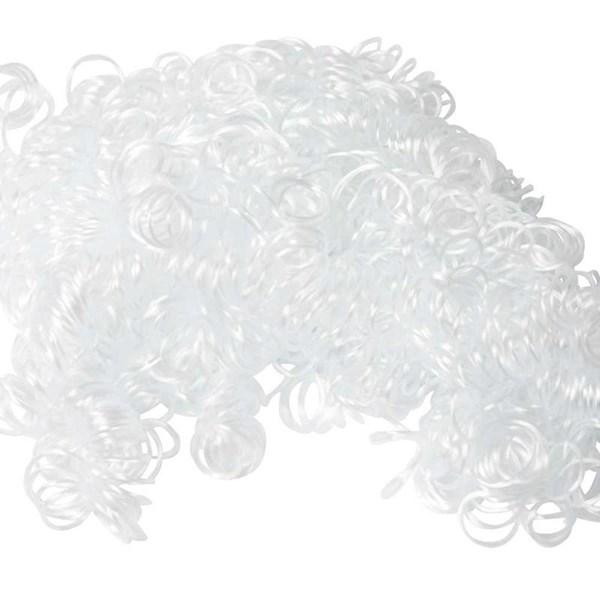 Krøllhår, hvit, 15g