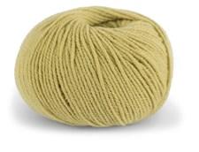 Dale Garn Pure Eco Wool Økologisk Ull Alpakka 50 g Korngul 1209