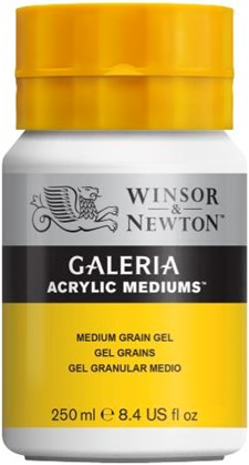Winsor & Newton Medier Galeria Medium Grain geeli 250 ml