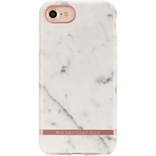 Mobildeksel, Freedom Case, Til Iphone X, White Marble, Richmond & Finch