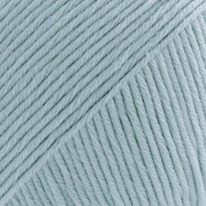 Safran Drops design Garn Bomull 50 g isblå 50