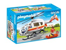 Ambulansehelikopter, Playmobil (6686)