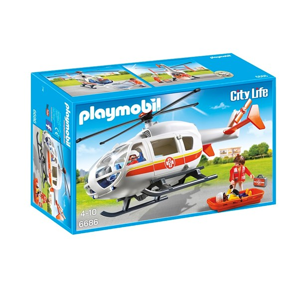 Ambulanshelikopter  Playmobil (6686) - playmobil