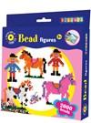 Rörpärlor och Pärlplattor Hästar 2000 st pärlor Playbox