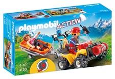 Vuoristopelastajien mönkijä, Playmobil Action (9130)