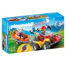 Fjellrednings-quad, Playmobil Action (9130)