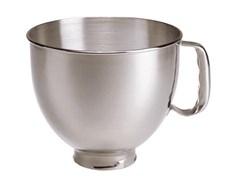 KitchenAid Artisan Skål Till Köksmaskin 4.8 Liter Stål