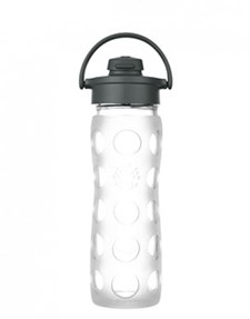 Flip Top bottle 475ml, Clear, Lifefactory