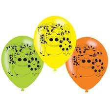 Djungeldjur ballonger, 6 st