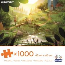 Pussel 1000 bitar, Mumin Animation