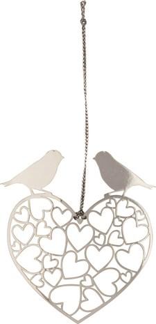Hengepynt Fugl sølv