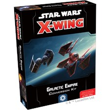 Star Wars X-Wing Galactic Empire expansion, Enligsh
